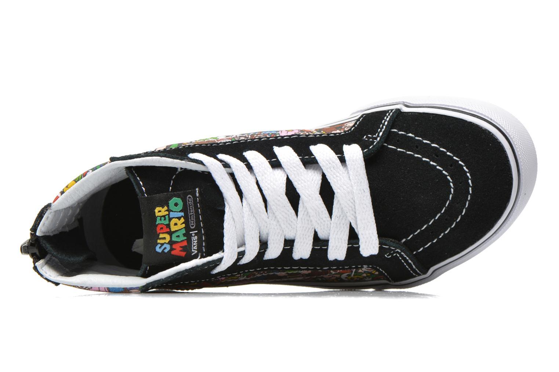 Baskets Vans SK8-Hi Zip K Noir vue gauche