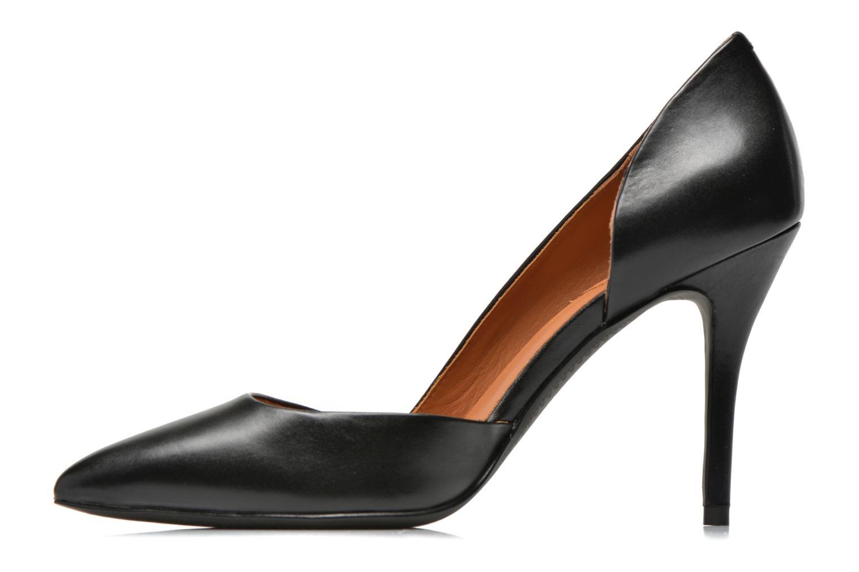 Zapatos de tacón What For Maney Negro vista de frente