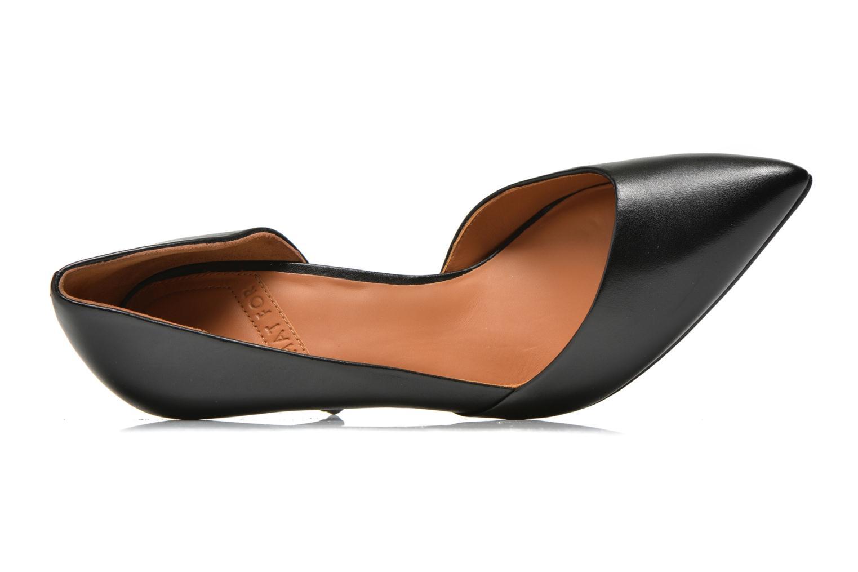 Zapatos de tacón What For Maney Negro vista lateral izquierda