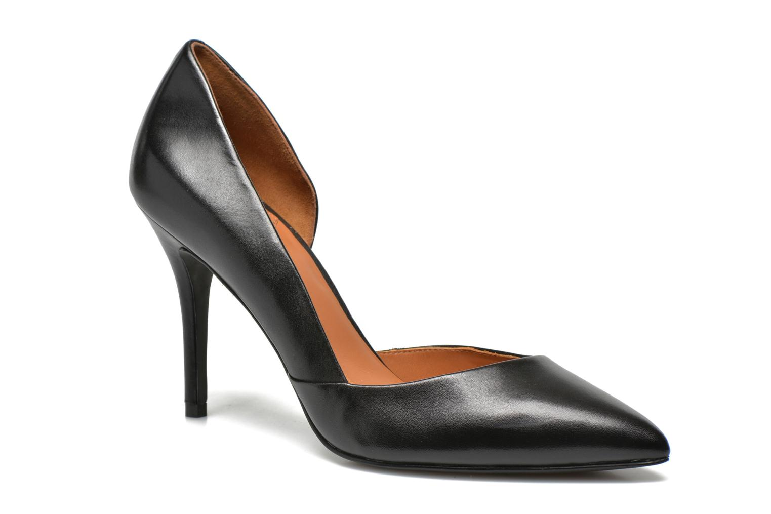 High heels What For Maney Black detailed view/ Pair view