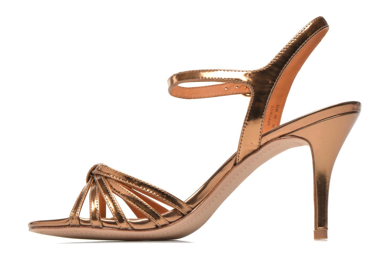 Sandali e scarpe aperte What For Salsa Oro e bronzo immagine frontale