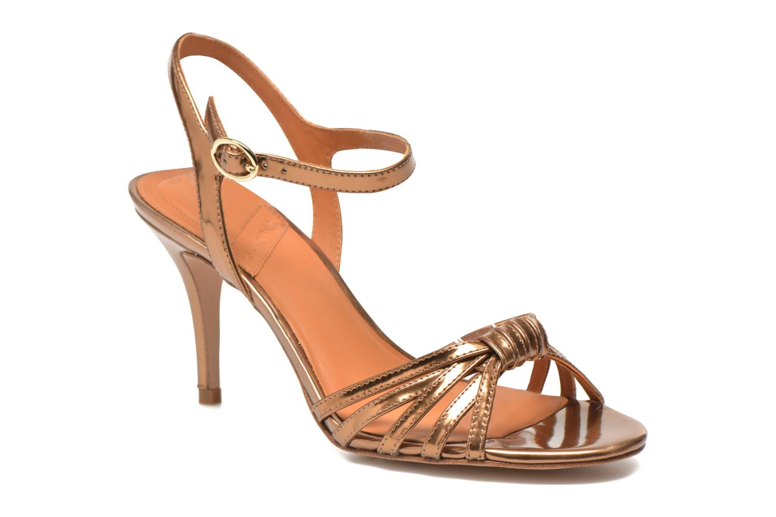 Sandalen What For Salsa Goud en brons detail