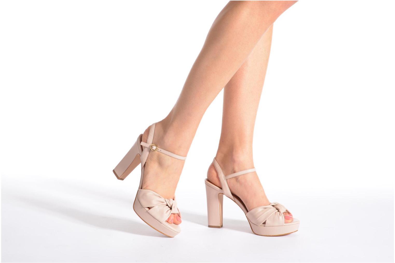 Sandales et nu-pieds What For Wane Rose vue bas / vue portée sac