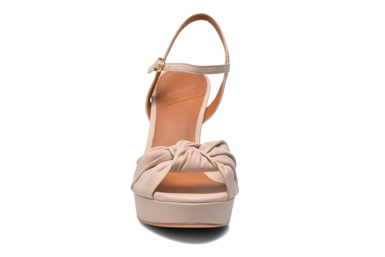 Sandales et nu-pieds What For Wane Rose vue portées chaussures