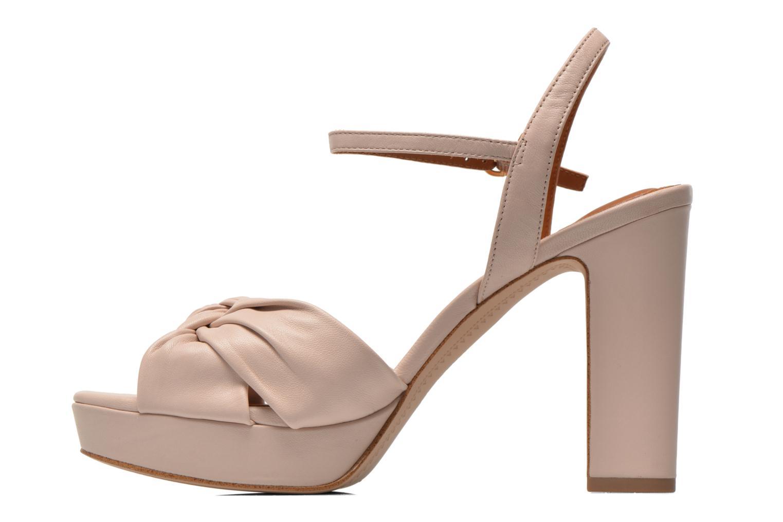 Sandales et nu-pieds What For Wane Rose vue face