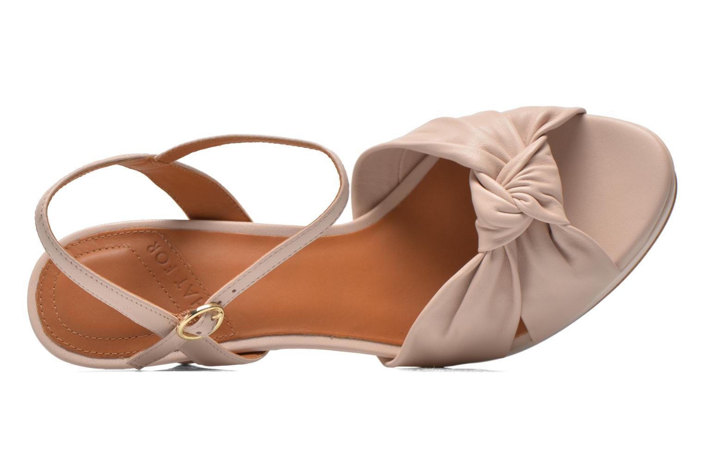 Sandales et nu-pieds What For Wane Rose vue gauche