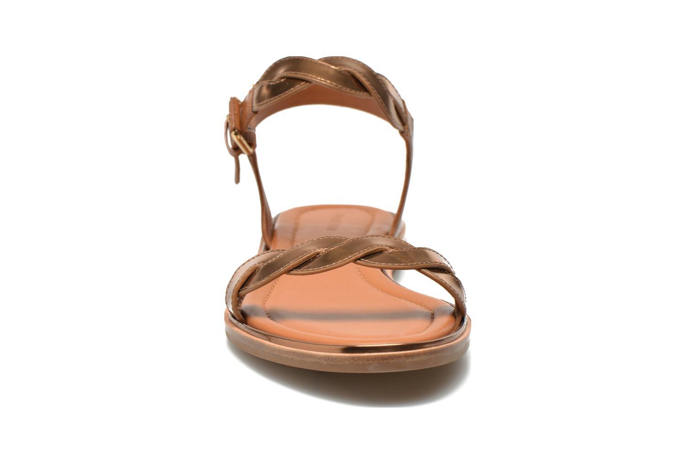 Sandalen What For Julian gold/bronze schuhe getragen