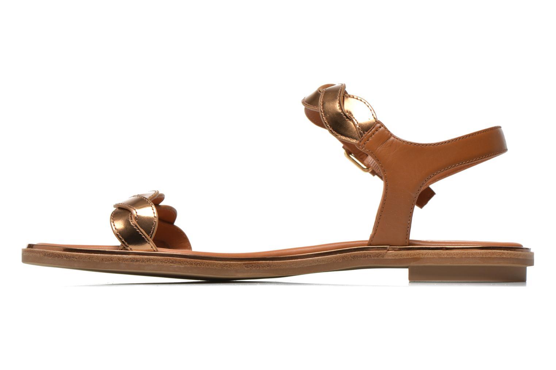 Sandalen What For Julian gold/bronze ansicht von vorne