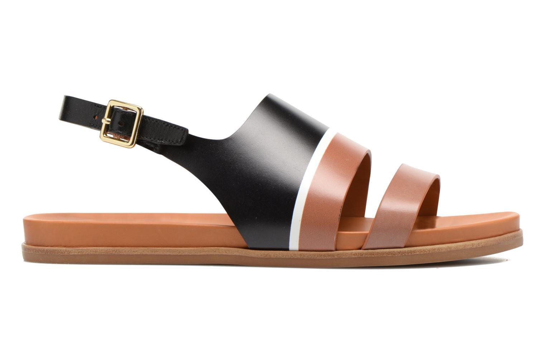 Sandales et nu-pieds What For Charm Noir vue derrière