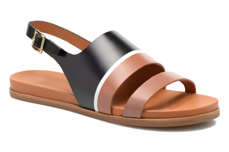 Sandales et nu-pieds What For Charm Noir vue détail/paire