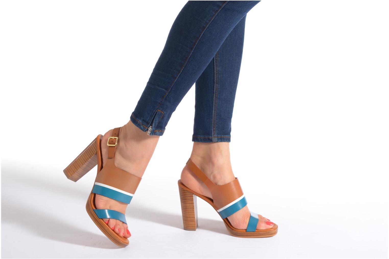 Sandali e scarpe aperte What For Miller Azzurro immagine dal basso