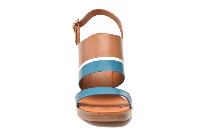 Sandalen What For Miller blau schuhe getragen