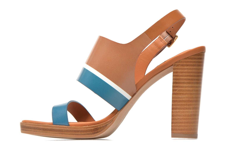 Sandales et nu-pieds What For Miller Bleu vue face