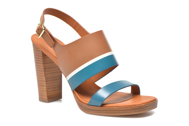 Sandales et nu-pieds What For Miller Bleu vue détail/paire