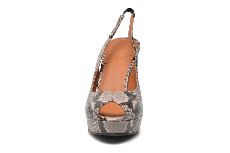 Sandali e scarpe aperte What For Taveda Multicolore modello indossato