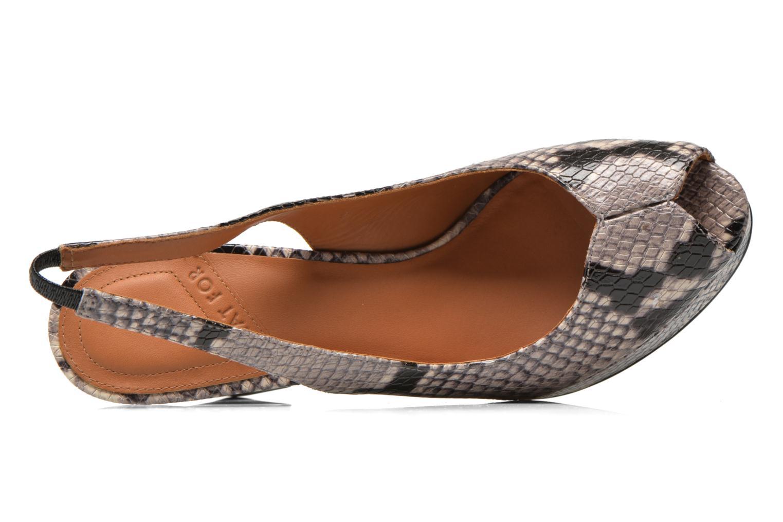 Sandales et nu-pieds What For Taveda Multicolore vue gauche