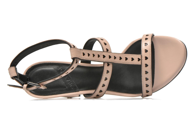 Sandales et nu-pieds What For Princess Rose vue gauche