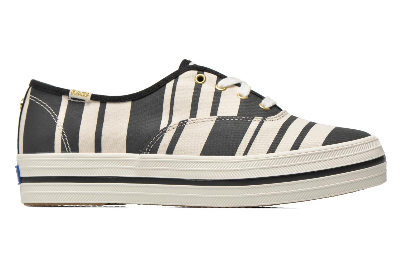 Sneaker Keds Triple Fairemont Stripe schwarz ansicht von hinten