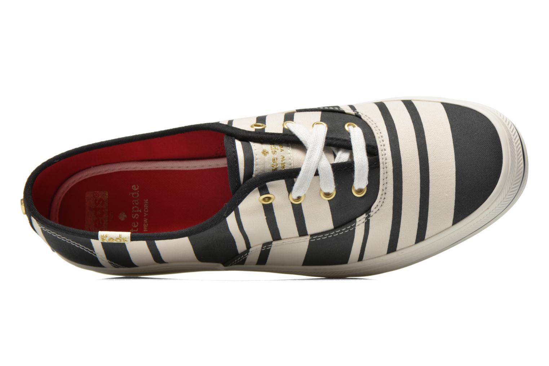 Sneaker Keds Triple Fairemont Stripe schwarz ansicht von links