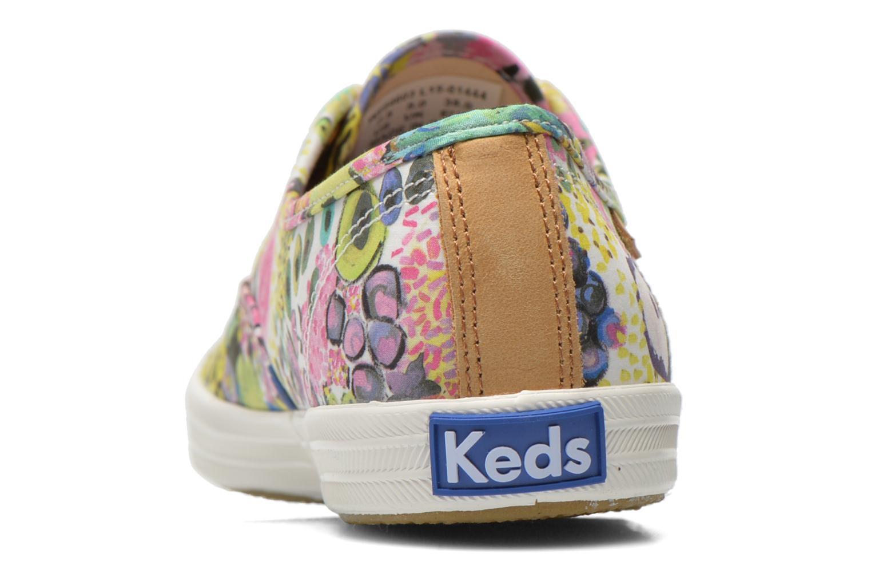 Baskets Keds Ch Liberty Floral Multicolore vue droite