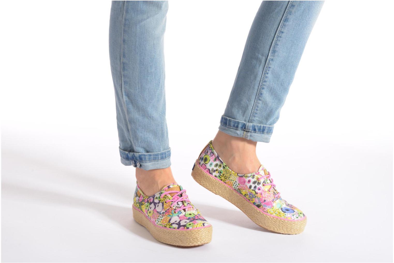 Sneaker Keds Triple Liberty Floral mehrfarbig ansicht von unten / tasche getragen
