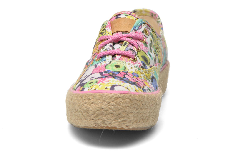 Sneaker Keds Triple Liberty Floral mehrfarbig schuhe getragen