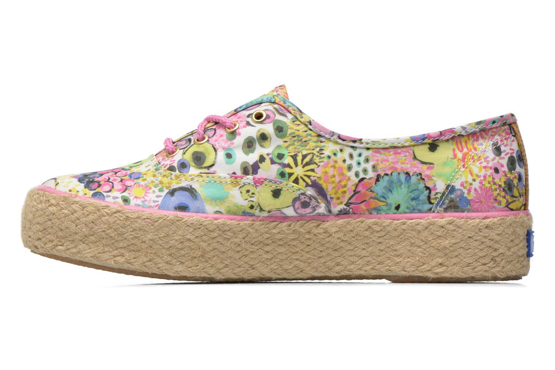 Sneaker Keds Triple Liberty Floral mehrfarbig ansicht von vorne