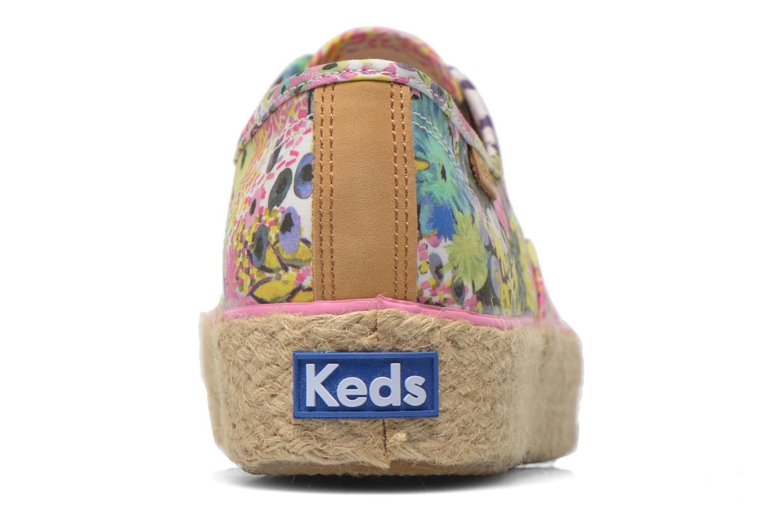Baskets Keds Triple Liberty Floral Multicolore vue droite