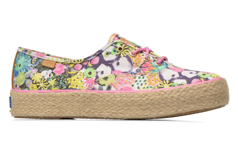 Sneaker Keds Triple Liberty Floral mehrfarbig ansicht von hinten