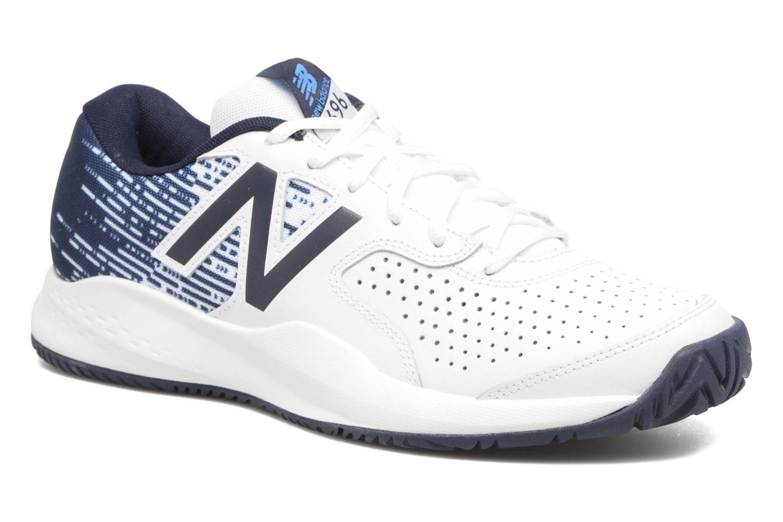 Chaussures de sport New Balance MC696 Blanc vue détail/paire