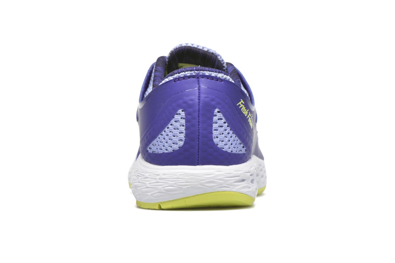 Zapatillas de deporte New Balance WBORA Azul vista lateral derecha
