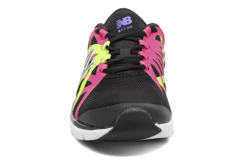 Chaussures de sport New Balance WX811 Noir vue portées chaussures