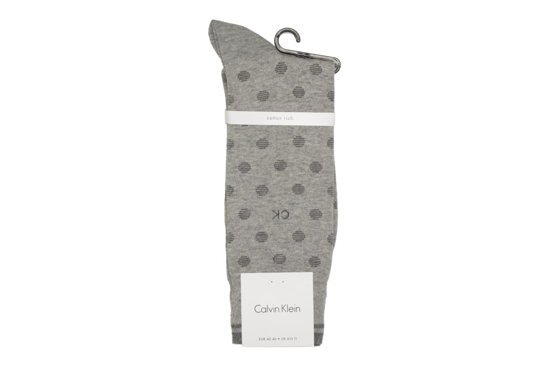 Chaussettes et collants Calvin Klein Chaussettes DOTS Gris vue droite