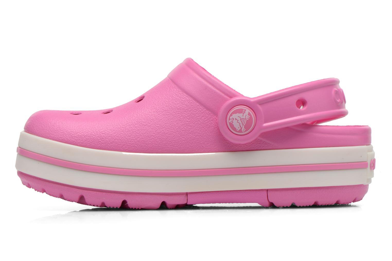 Sandales et nu-pieds Crocs CrocsLights Clog PS Rose vue face