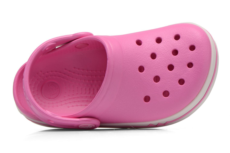 Sandales et nu-pieds Crocs CrocsLights Clog PS Rose vue gauche