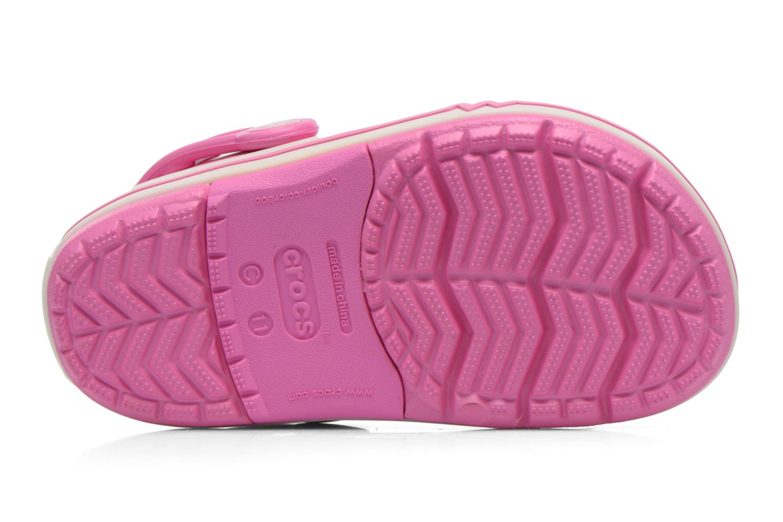 Sandales et nu-pieds Crocs CrocsLights Clog PS Rose vue haut