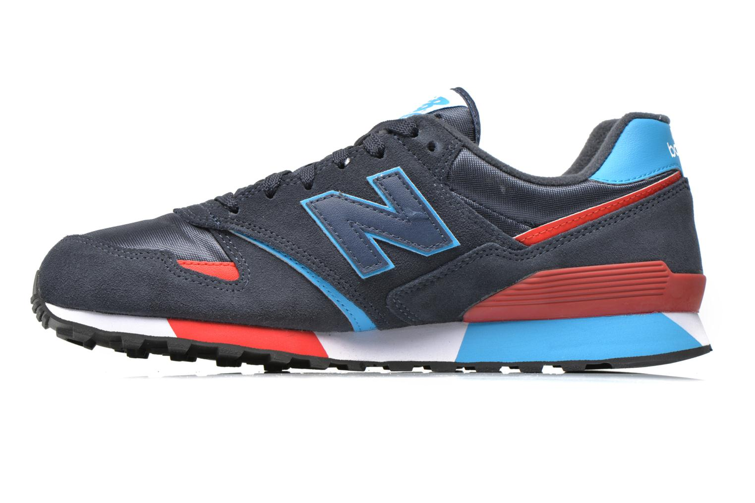 Baskets New Balance U446 D Bleu vue face