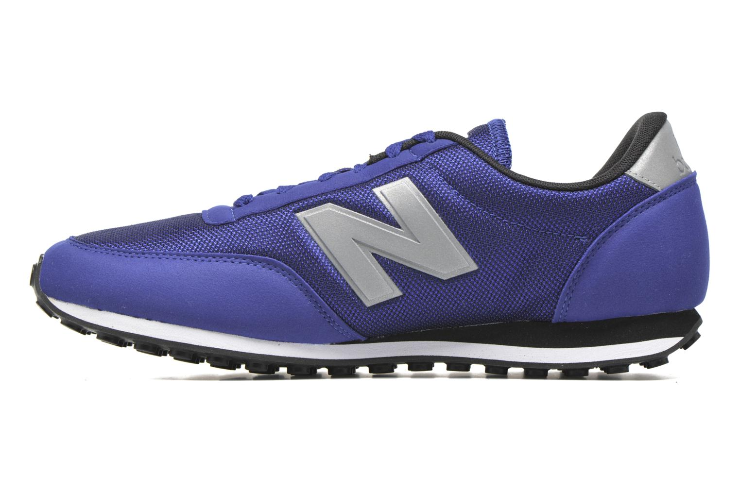 Baskets New Balance U410 D Bleu vue face