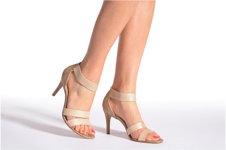 Sandales et nu-pieds Elizabeth Stuart Buz 522 Noir vue bas / vue portée sac
