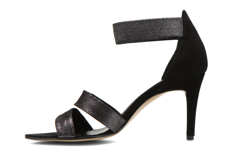 Sandals Elizabeth Stuart Buz 522 Black front view