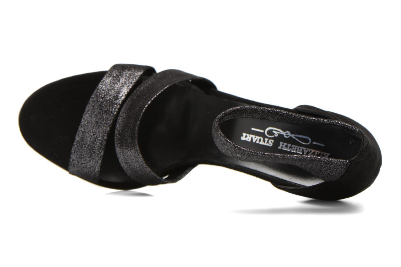 Sandales et nu-pieds Elizabeth Stuart Buz 522 Noir vue gauche