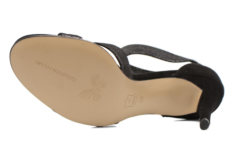 Sandales et nu-pieds Elizabeth Stuart Buz 522 Noir vue haut