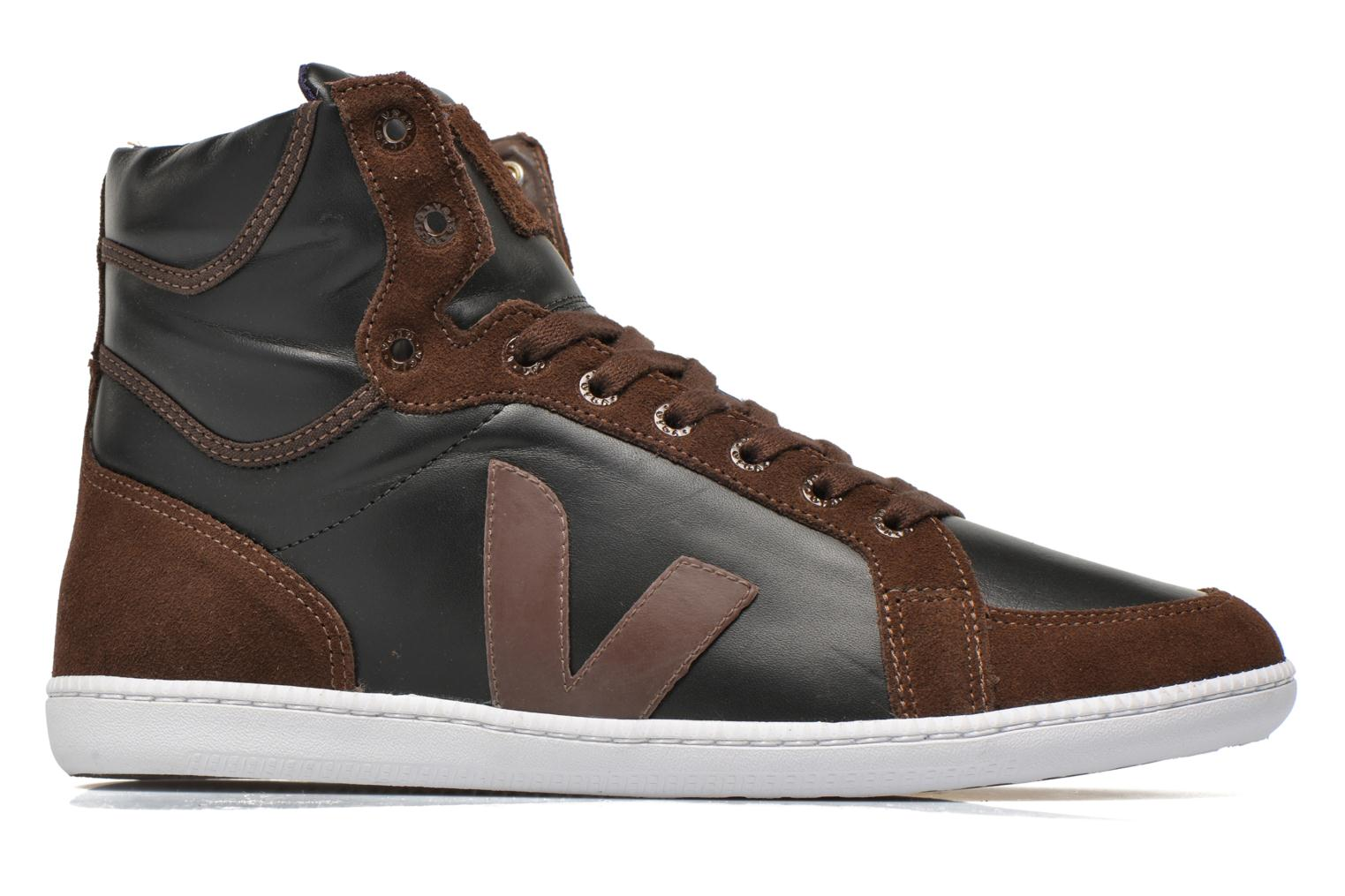 Trainers Veja Spma leather Black back view