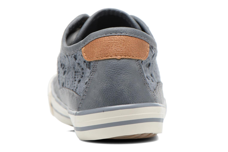 Sneakers Mustang shoes Hannah Blå Se fra højre