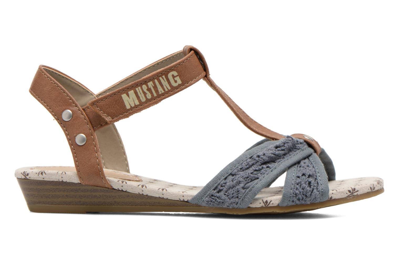 Sandales et nu-pieds Mustang shoes Neele Bleu vue derrière