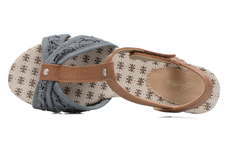 Sandales et nu-pieds Mustang shoes Neele Bleu vue gauche