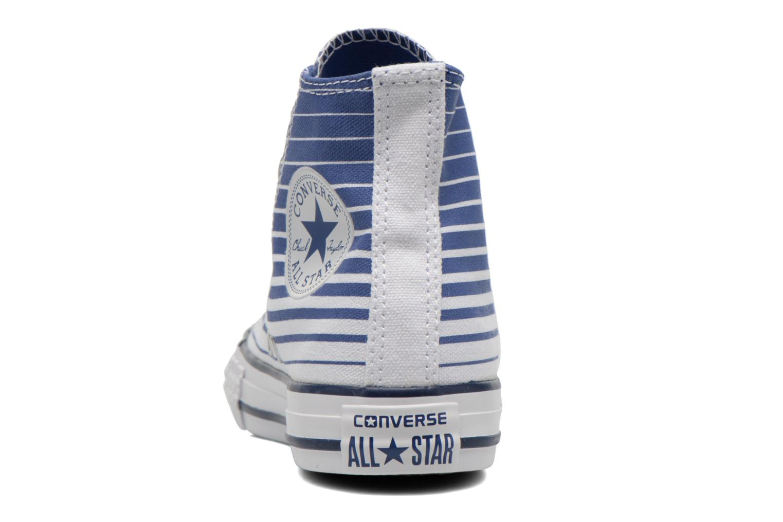 Baskets Converse Chuck Taylor All Star Hi Bleu vue droite