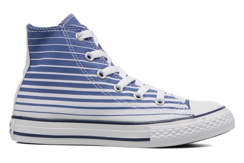 Baskets Converse Chuck Taylor All Star Hi Bleu vue derrière