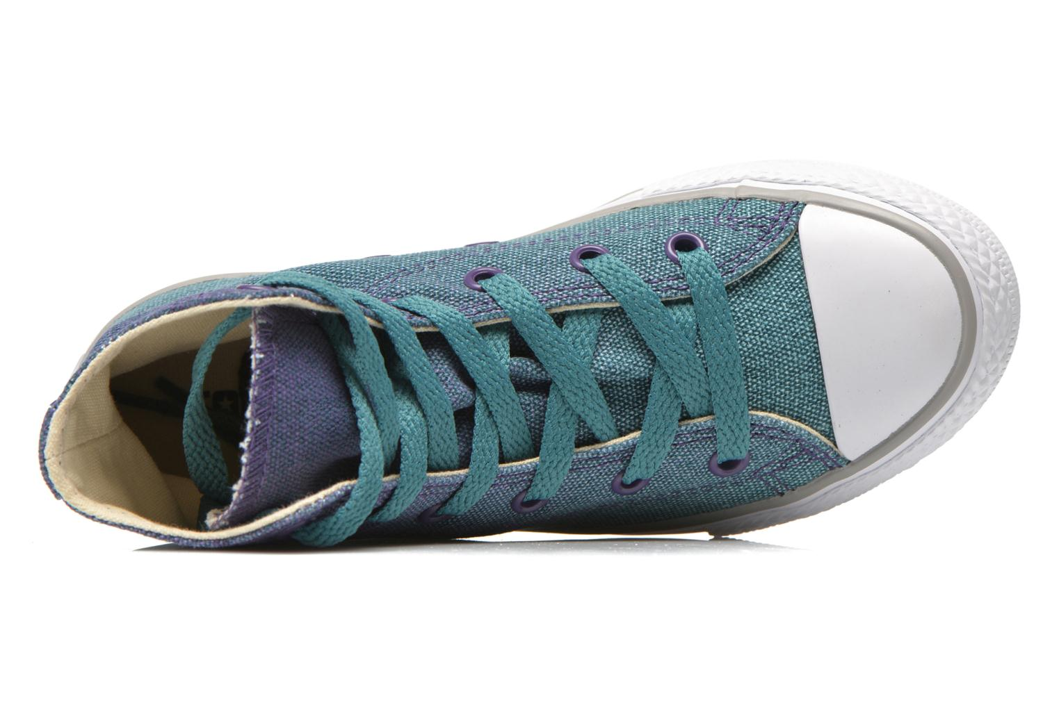 Chuck Taylor All Star Hi Seaside Blue/Showtime Purple