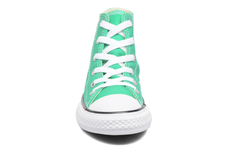 Sneaker Converse Chuck Taylor All Star Hi grün schuhe getragen